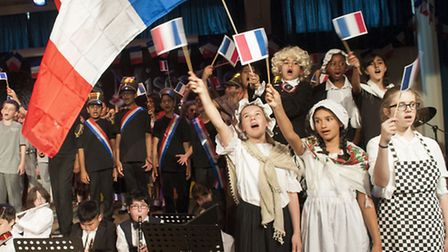 Suburb Junior School production of Les Miserables