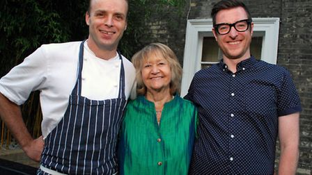 Celebrating their 10th Anniversary at The Wells Tavern, head chef Greg Smith, proprietor Beth Covent
