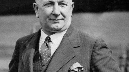 Football manager Herbert Chapman led Arsenal to be the top side in England in the 1930s, having both