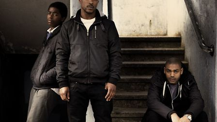 The cast of Channel 4 drama Top Boy, a four-part series about gangs in Hackney