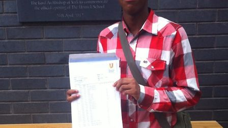 Niya Clement-Hickson, 16, of The Urswick School will follow in Royal footsteps when he takes up a pl