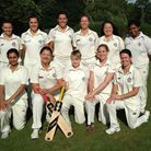 Hampstead's ladies have won the North London Women's League. Back row (left to right): Sian Culley,