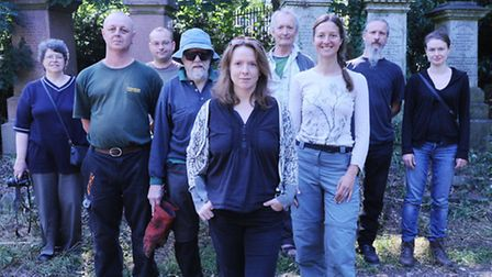 Abney park volunteers and trusties