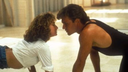 A scene from Dirty Dancing