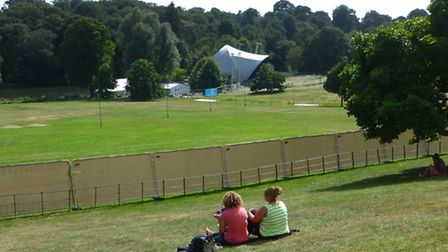 The Kenwood concert site. Picture: Nigel Sutton