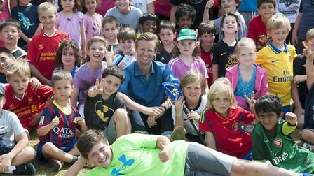 Former UCS sports teacher Paul Clarke now runs a summer camp for youngsters, teaching them a variety