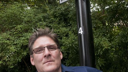 Parking campaigner Richard Chaumeton is fighting Camden Council in court over residents parking perm