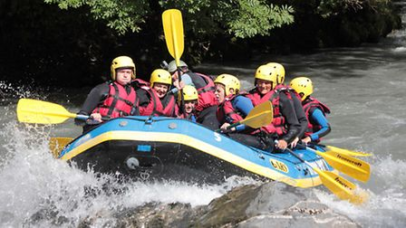 White water rafting with Raft France