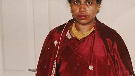 Rehanan Begum, 43, was butchered to death by jealous relatives in Bangladesh