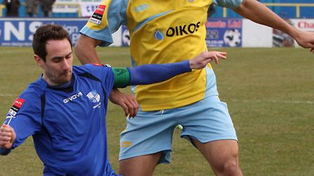 Daniel Nielsen (left) enjoyed a successful spell as a Wingate player, and is now the club's head coa