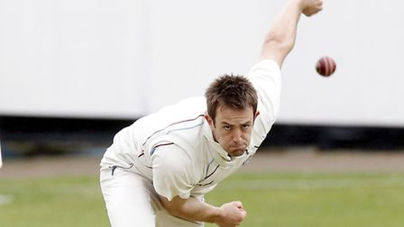 Hampstead captain Steve Clark took eight wickets to keep his side top of the Premier Division with f
