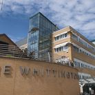 Patients have ranked the Whittington Hospital's A&E department in the bottom three nationally. Pictu