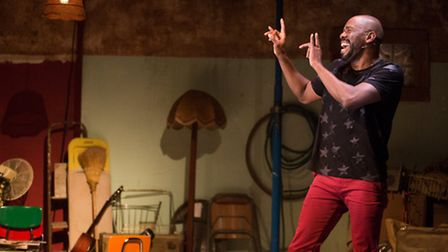 A Boy and His Soulby Colman Domingo at The Tricycle Theatre. Director Titas HalderDesigner Richard