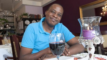 Davy Kibodi, chef and owner at La Provence in Heath Street. Picture: Nigel Sutton