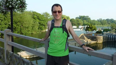 David Lewis runs 187 miles in a week to raise money for Homerton's special care baby unit in memory