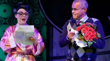 Gary Wilmott in Molly Wobbly's Tit Factory