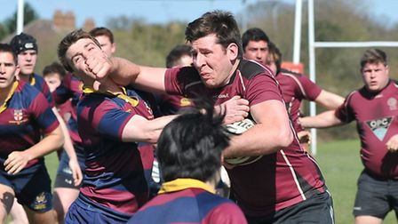 UCS captain James Boyde. Pic: Nick Cook/UCS Old Boys RFC