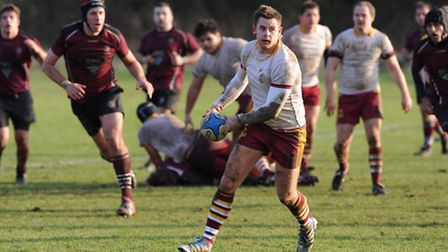 Morgan Clement in action for Hamstead. Pic: Paolo Minoli