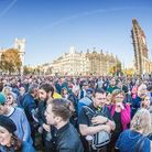 People's Vote campaigners pack out Parliament Square in October 2018 (Photograph: Left of London/Twi