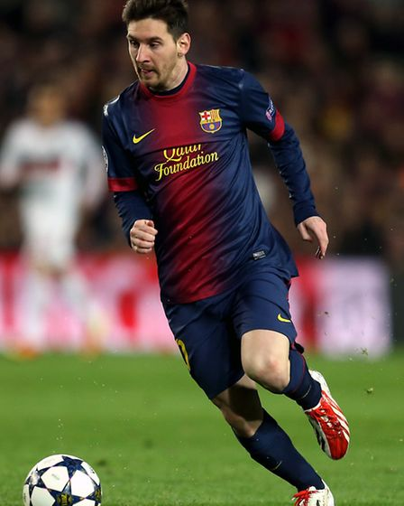 Lionel Messi has won the Ballon d'Or four times. Picture: PA/Mike Egerton.