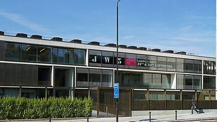 The JW3 centre in Hampstead. Picture: Hufton + Crow