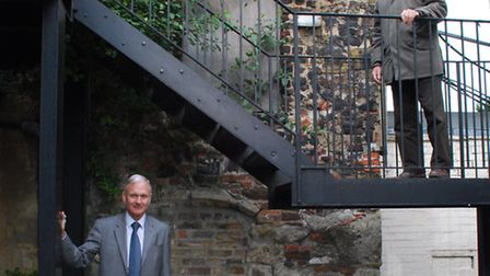 Christopher Cansick and Michael Hammerson investigate the Victorian 'folly' in Broadbent Close, High
