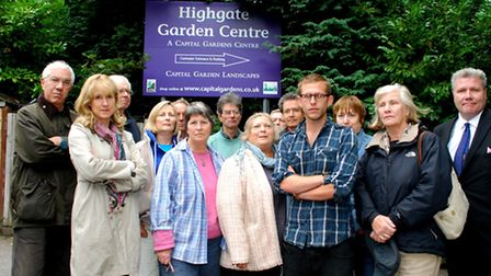 Members of The Highgate Bowl Action Group want to protect the Bowl. Picture: Polly Hancock