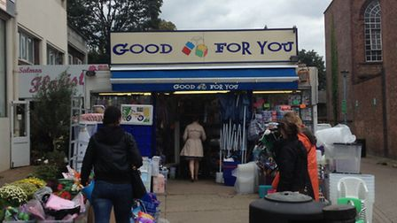 The Good For You store in Haverstock Hill