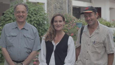 Members of the In Cold Blood: The massacre of East Timor documentary crew - Peter Gordon, Kirsty Swo