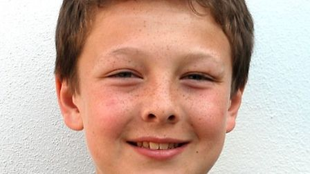 12 year old Crouch End Festival Chorus singer James Dillon