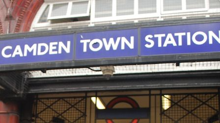 The robbery took place in Camden Town
