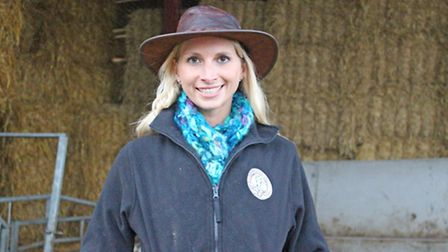 Chantal Brown, director of Cotswold Veal