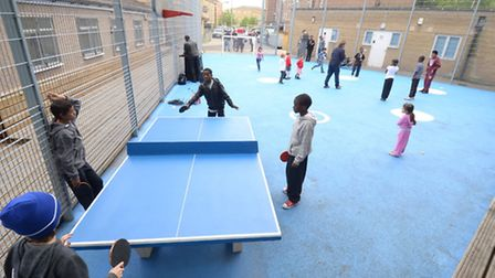 The new multi-use game area in Charterhouse Road