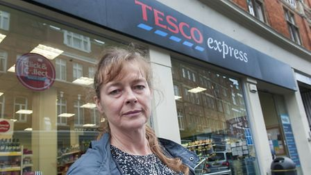 Jenny Anderson is one of many unhappy about a reduction in organic produce at Tesco Express in Hamps