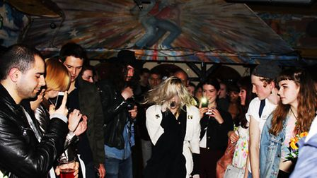Geneva Jacuzzi at Shacklewell Arms