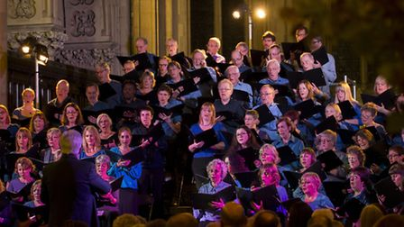 The Hackney singers celebrated their 40th birthday with an evening of Victorian music on Saturday at