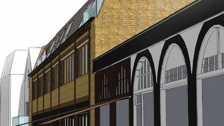 Artist's impression of the Savills building with an extra floor