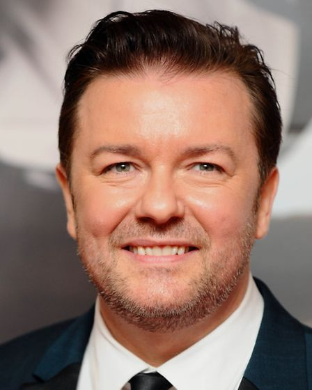 Ricky Gervais at a gala screening of Ricky Gervais's new film The Invention of Lying, at Bafta in Lo