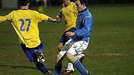 Charlie Ball in action for Wingate & Finchley's youth section