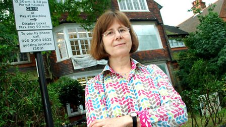 Sarah John, opeations director at Hampstead School of Art, says the parking restrictions are driving