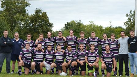 The Belsize Park first XV. Pic: Kully Khella