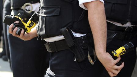 Tasers were introduced in Camden in May this year. Picture: PA/ Lewis Whyld