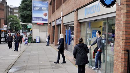 Barclays in Swiss Cottage. Picture: PA/Nick Ansell