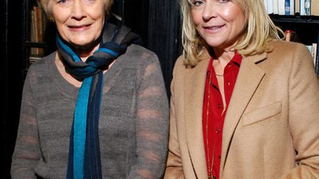 Broadcaster Sue MacGregor and author Helen Fielding at Cecil Sharp House for the official launch of