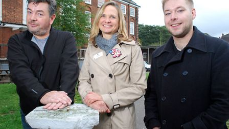 From left: David Aaronovitch, Rachel Palin and Jack Stevens. Picture: Polly Hancock