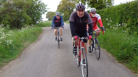 Mike has undertaken several charity rides throughout his life. This time he was raising money for th