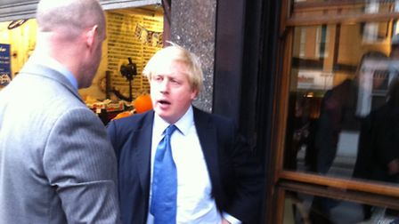 Boris Johnson said the situation is 'mad' after Scotland Yard refuses to pay �30 to keep police in H