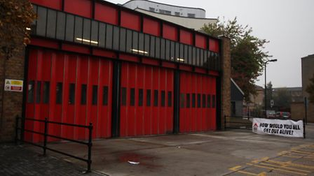 Hackney council are beginning a legal challeng over fire cuts to help save Kingsland fire station a