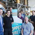 Adnams staff at the company's Copper House Distillery in Southwold.Picture: Sarah Groves