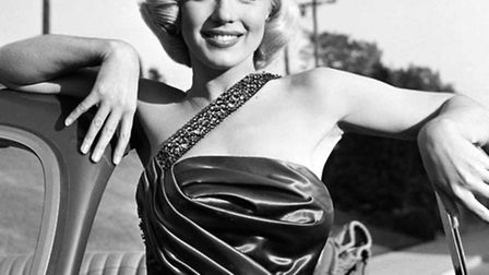 A shot of Marilyn Monroe in 1953 from the Frank Worth collection on show at Zebra One Gallery.